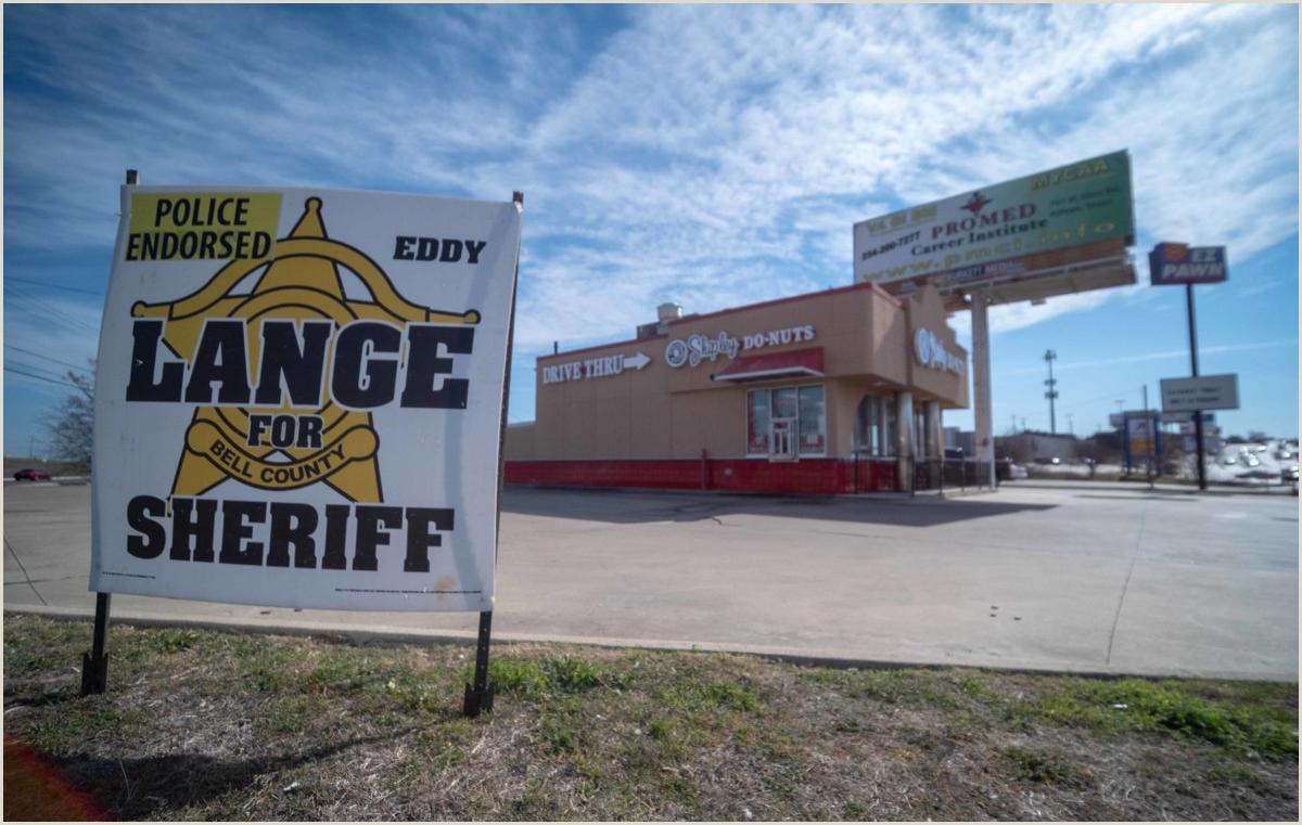 Marketing Banner Stand Sheriff S Race Battleground Killeen