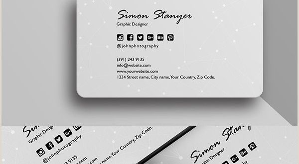 Minimalist Business Cards 30 Minimalistic Business Card Designs Psd Templates