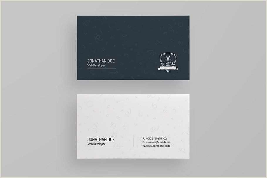 Minimalist Business Cards Business Card