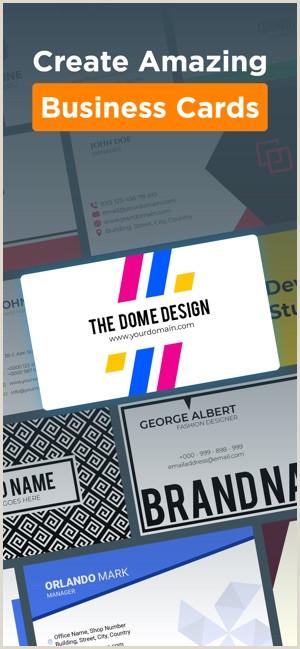 Modern Business Card Designs Logo Maker Design Monogram On The App Store