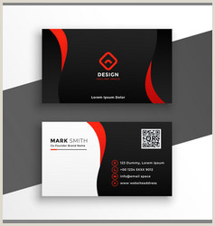 Modern Business Card Designs Modern Business Card Vector Over 470 000