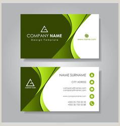 Modern Business Card Layout Modern Business Card Vector Over 470 000