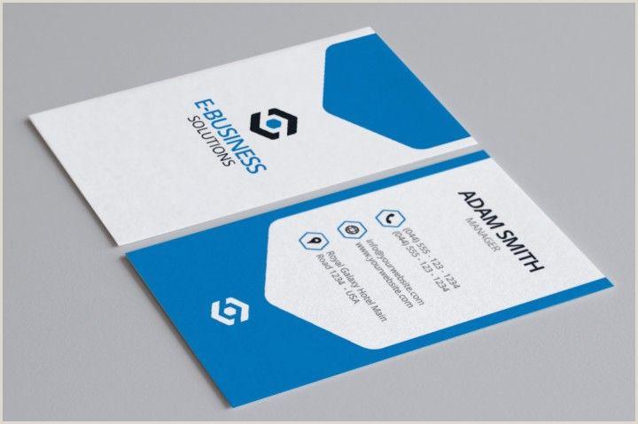 Modern Business Card Layout Modern Creative Business Card 7 By Arslan Design Templates