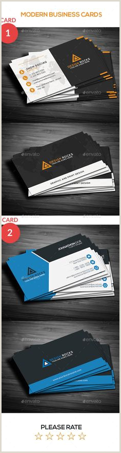 Modern Business Cards 40 Best Awesome Business Cards Designes Images