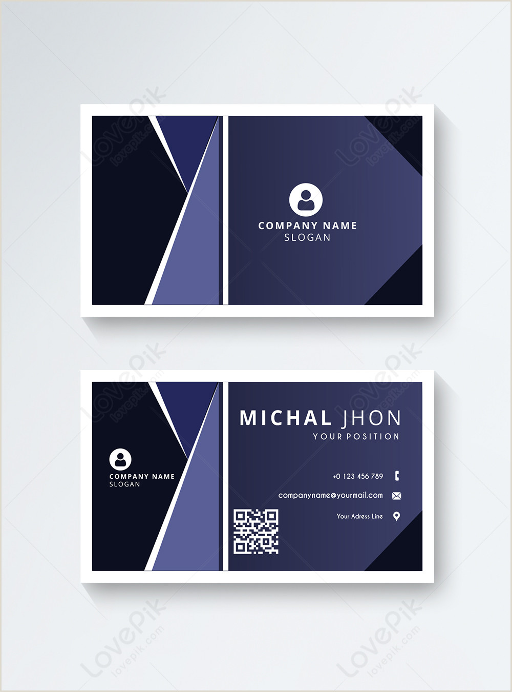 Modern Business Cards Modern Business Card Template Image Picture Free