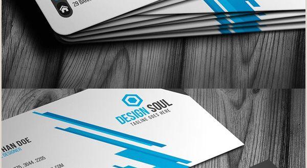 Modern Elegant Business Card Design 25 New Modern Business Card Templates Print Ready Design