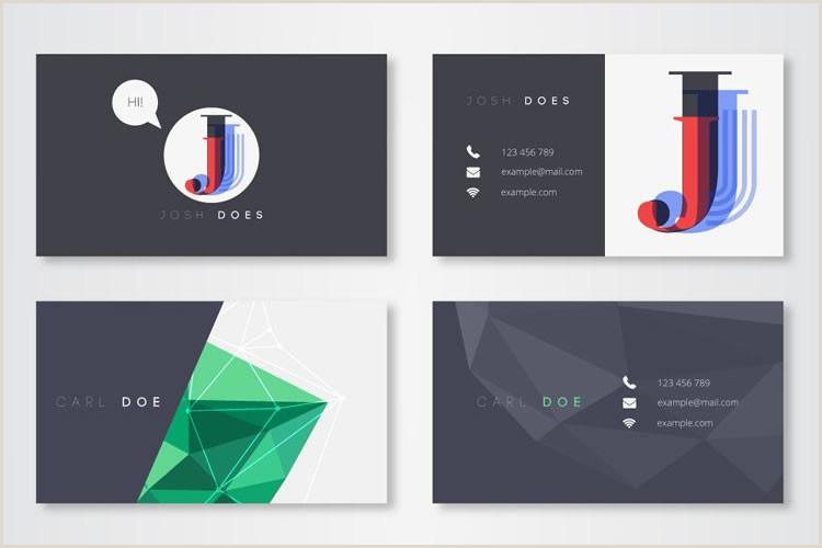 Modern Elegant Business Card Design 30 Free Modern Business Card Templates