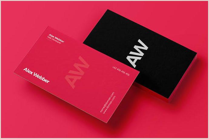 Modern Elegant Business Card Design 40 Elegant Minimal Business Card Designs 2018 – Bashooka