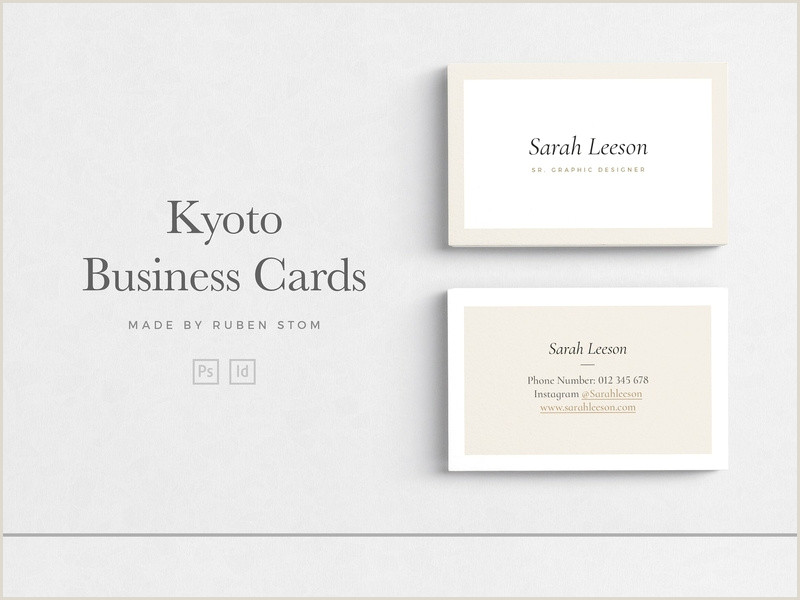 Modern Elegant Business Card Design Instagram Icon For Business Card At Vectorified
