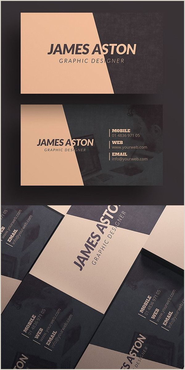 Modern Name Card Design 25 New Modern Business Card Templates Print Ready Design