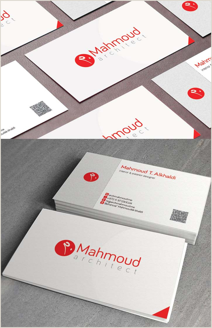 Modern Name Card Design 36 Modern Business Cards Examples For Inspiration