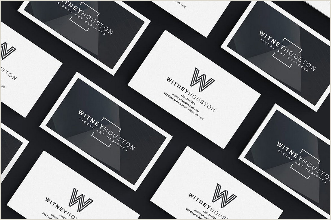 Most Professional Business Cards 20 Best Modern Business Card Templates 2020 Word Psd
