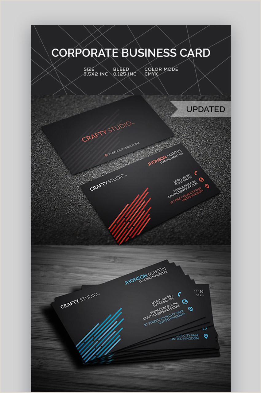 Most Professional Business Cards 25 Best Personal Business Cards Designed For Better