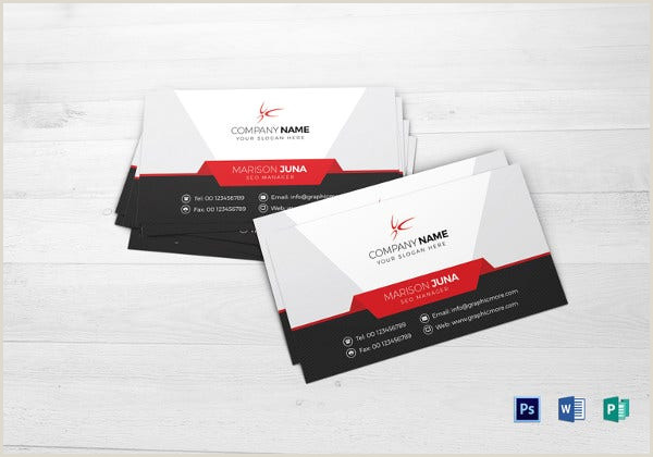 Most Professional Business Cards 39 Professional Business Card Templates Pages Psd Word