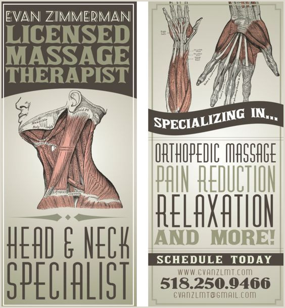 Most Unique Massage Therapy Business Cards Super Creative Massage Therapist Business Card