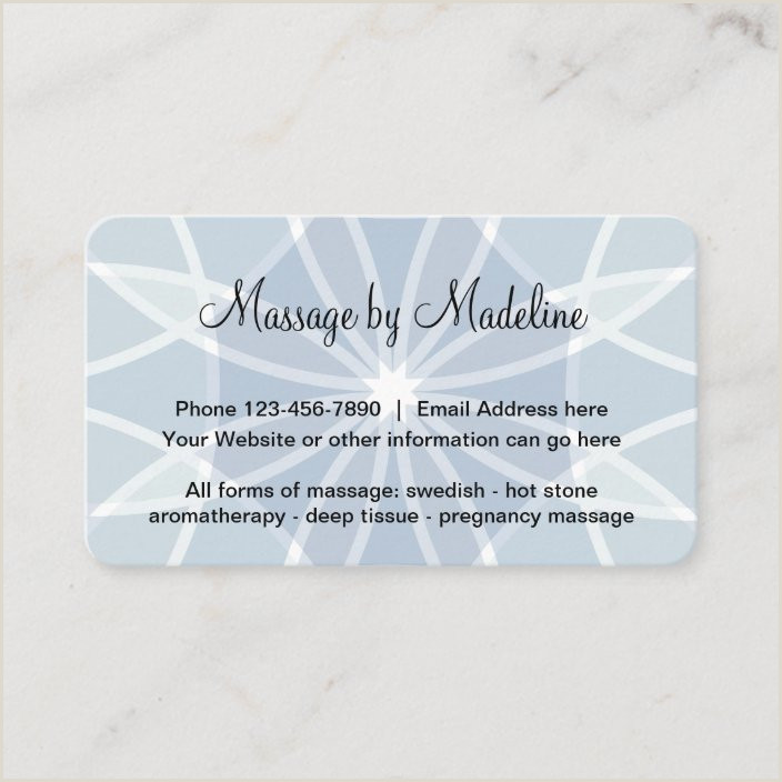 Most Unique Massage Therapy Business Cards Unique Massage Therapist Design Business Card