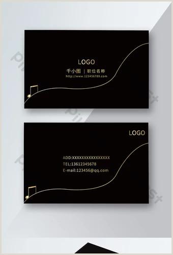 Music Business Card Design Music Business Card Templates