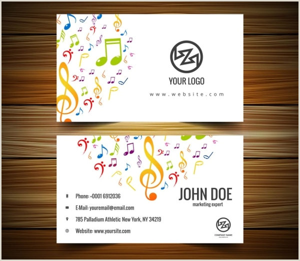 Music Business Card Ideas 26 Music Business Card Templates Psd Ai Word