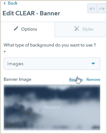 My Banner Is Clear Clear Banner Module