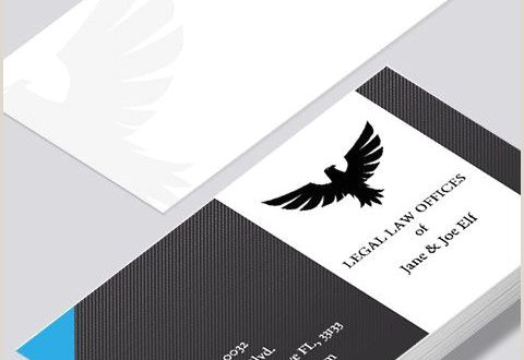Name Card Design Template Modern Contemporary Business Card Design Legal Law Business