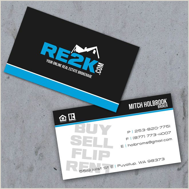 Name Card Ideas 40 Creative Real Estate And Construction Business Cards