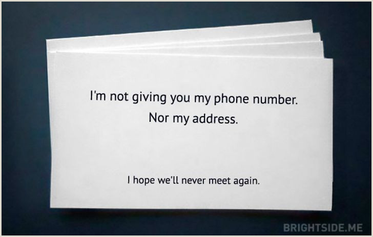 Name Card Ideas 50 Extraordinary Business Card Designs That You Ll Never Be