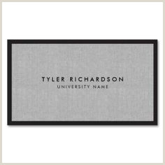 Networking Business Card Examples 20 Business Cards For College And University Students