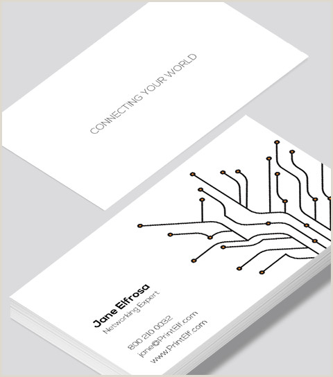 Networking Business Card Examples Networking Business Card Modern Design