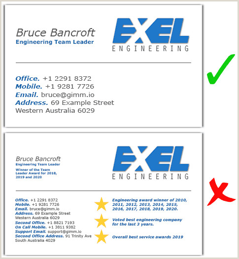 Normal Business Card Size Standard Business Card Sizes & Dimensions