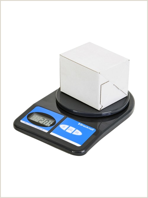 Office Max Banner Brecknell Electronic Fice Scale 11 Lb Capacity Item