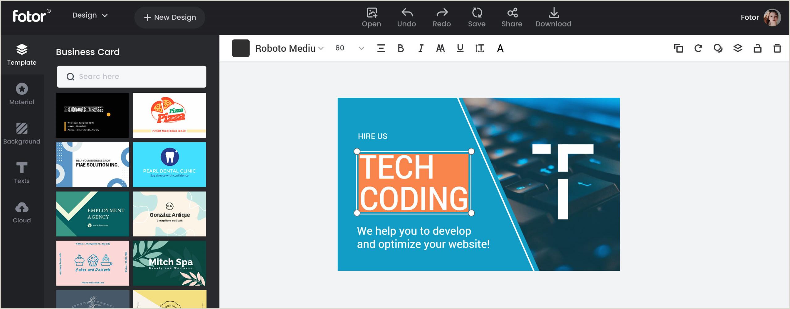 Online Visiting Card Design Business Card Maker Create Business Card Designs Line For