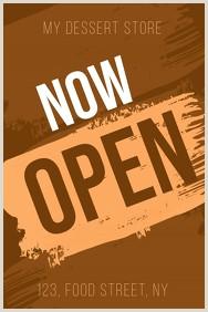 Open Sign Template 1 780 Open Sign Customizable Design Templates