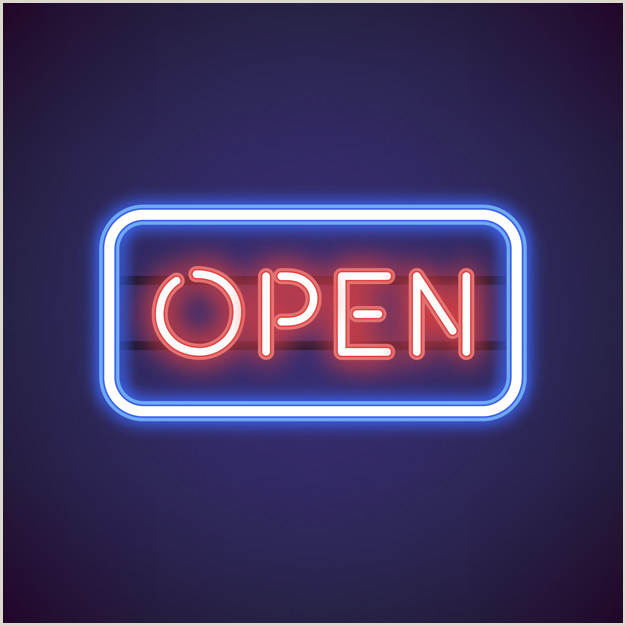 Open Sign Template Open Sign