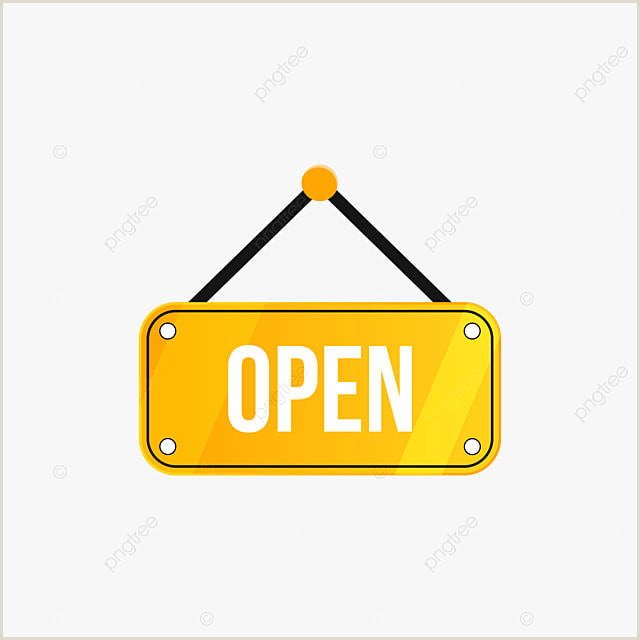 Open Sign Template Open Sign Vector Psd And Clipart With Transparent