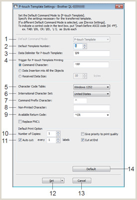 Open Sign Template Using P Touch Template Settings For Windows