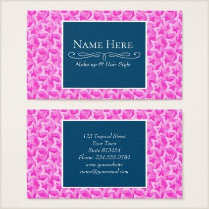 Order Unique Shaped Business Cards 3d Pink Stars Business Card Zazzle