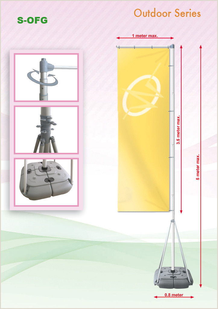 Outdoor Vertical Banner Stand Wei Creative – Product Categories – Outdoor Banner Stand