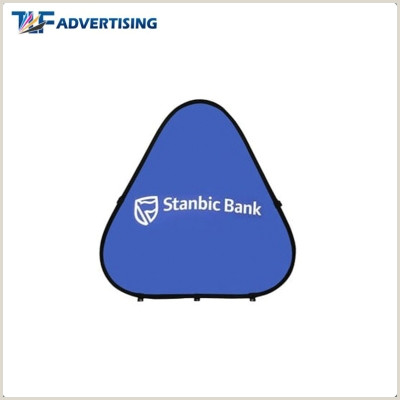 Oval Pop Up Banner 2x1m Oval Pop Out Banner