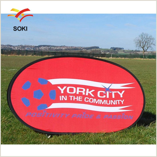 Oval Pop Up Banner Horizontal Vertical Round Oval Outdoor Pop Out Banner Display Pop Up A Frame Banner