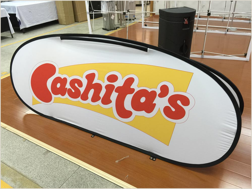 Oval Pop Up Banner Pop Up Banners Oval A Frame Sideline Banners