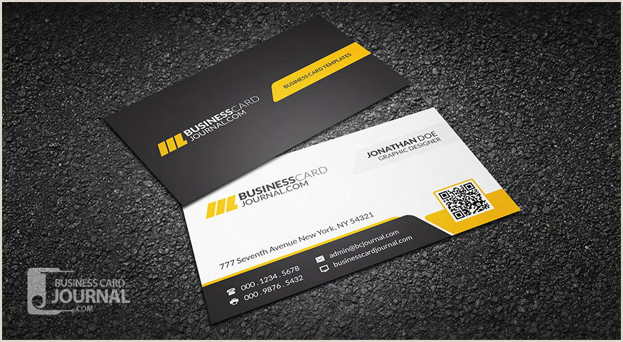 Paper Source Business Card Template Free Corporate Professional Qr Code Business Card Template