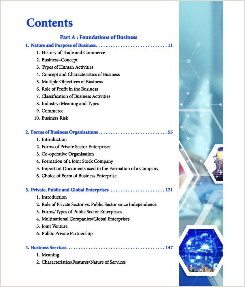 Partner Title On Business Card Business Stu S Poonam Gandhi Class 11 Cbse 2020 21