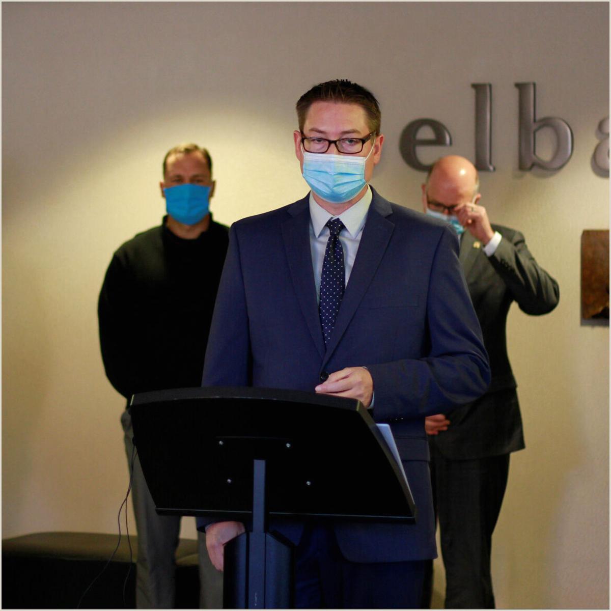 Partner Title On Business Card South Dakota Medical Groups Promote Masks Countering Noem
