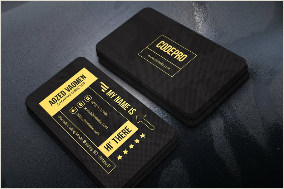 Perfect Business Card Luxury Business Card