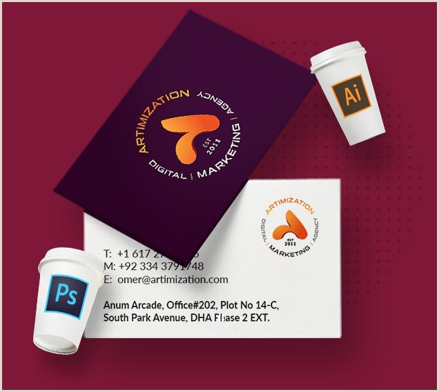 Personal Business Card Designs Custom Business Cards Design Pricing 2020
