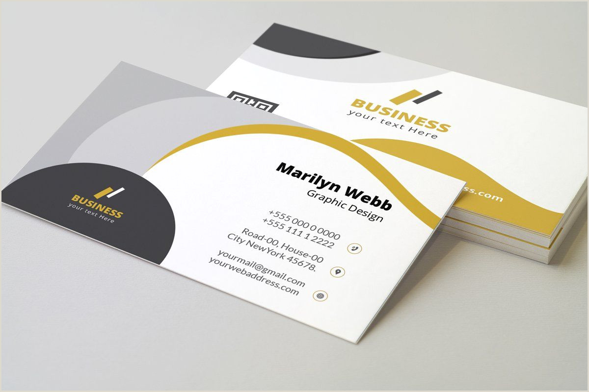 Personal Business Card Examples Business Card Sponsored Minimal Price Beautiful Clean