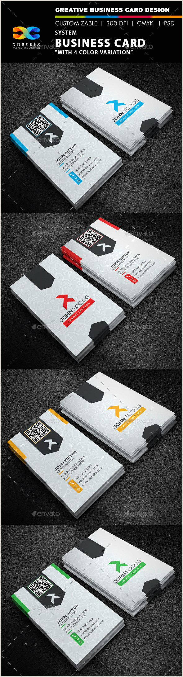 Personal Business Card Ideas Personal Business Card Templates & Designs From Graphicriver