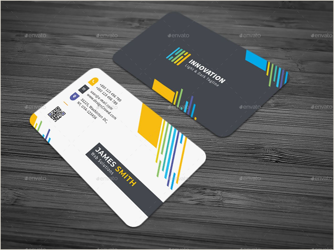 Personal Business Card Template Business Card Bundle