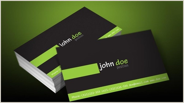 Personal Business Card Template Personal Business Card Designs Free Vector 28 817