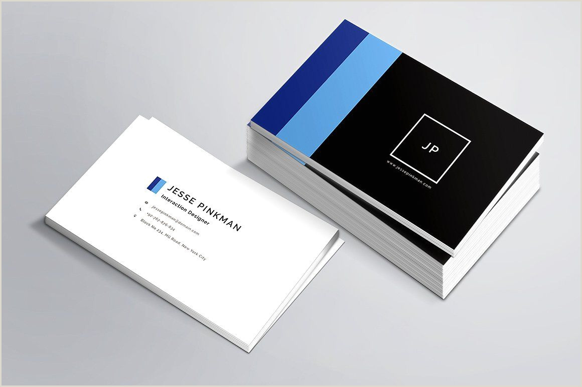 Personal Business Card Template Personal Business Card Template